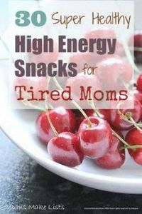 Healthy Snacks for New Moms - 85 Lunch Box And Snack Ideas - RecipePin.com