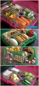 Tips for simple, healthy and delic - 85 Lunch Box And Snack Ideas - RecipePin.com