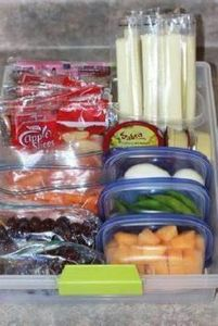 Quick and easy healthy snacks, for - 85 Lunch Box And Snack Ideas - RecipePin.com