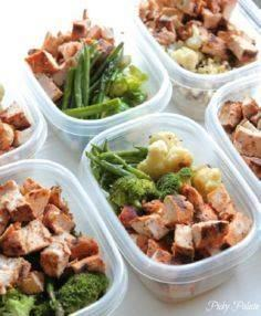 How to prep healthy lunches ahead  - 85 Lunch Box And Snack Ideas - RecipePin.com