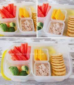 A weeks worth of school lunch idea - 85 Lunch Box And Snack Ideas - RecipePin.com