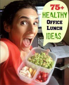 75 Healthy Office Lunch Ideas - 85 Lunch Box And Snack Ideas - RecipePin.com