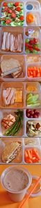 Healthy Lunch Ideas -- you can buy - 85 Lunch Box And Snack Ideas - RecipePin.com