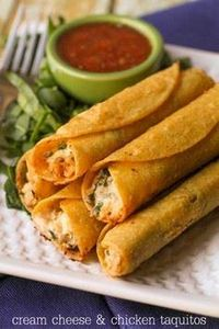 These are SOOO good! Cream Cheese  - 275 Delicious Mexican Recipes - RecipePin.com