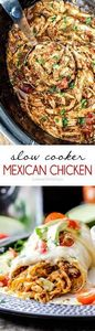 Easy Slow Cooker Shredded Mexican  - 275 Delicious Mexican Recipes - RecipePin.com