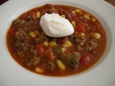 taco soup: 2 Cans Kidney Beans, Co - 275 Delicious Mexican Recipes - RecipePin.com