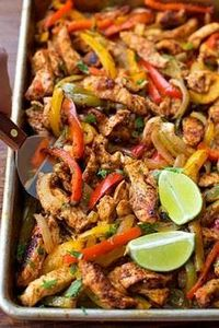These easy, flavorful, sheet pan c - 275 Delicious Mexican Recipes - RecipePin.com