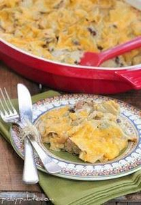 The I don't feel like making dinner dinner (Green chili enchilada bake) - Easy and good recipe - 275 Delicious Mexican Recipes - RecipePin.com