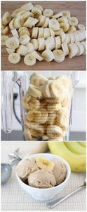 Two Ingredient Banana Peanut Butte - 380 Non-Dairy Recipes - RecipePin.com