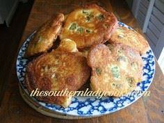 SOUTHERN LADY'S OKRA FRITTERS - 100 Okra Recipes - RecipePin.com