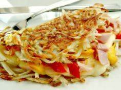 Hashbrown Omelette - so crispy out - 85 Popular Omelet Recipes - RecipePin.com