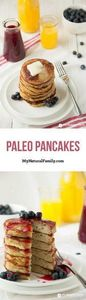 These Paleo pancakes are light and