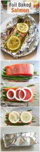 Foil Baked Salmon - You infuse you - 260 Popular Paleo Recipes - RecipePin.com