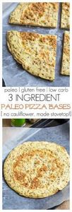 3 Ingredient Paleo Pizza Bases whi - 260 Popular Paleo Recipes - RecipePin.com