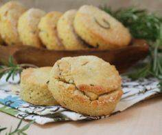 Almond Rosemary Biscuits #paleo #g - 260 Popular Paleo Recipes - RecipePin.com