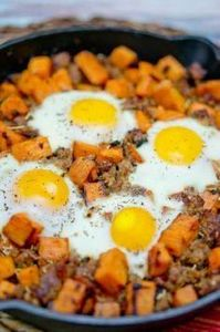 Sweet potato hash with sausage and - 260 Popular Paleo Recipes - RecipePin.com