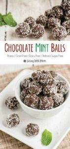 These Chocolate Mint Balls are add - 260 Popular Paleo Recipes - RecipePin.com