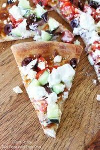 Easy Greek Pizza Recipe on twopeas - 250 Great Pizza Recipes - RecipePin.com