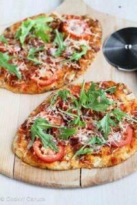 BLT Naan Pizza Recipe with Bacon,  - 250 Great Pizza Recipes - RecipePin.com