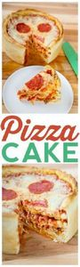 The ultimate deep dish: layers of  - 250 Great Pizza Recipes - RecipePin.com