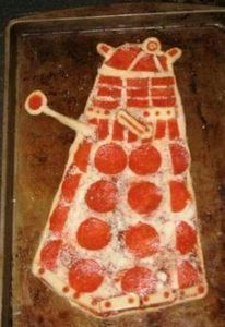 This Dalek Pizza Looks Amazing and - 250 Great Pizza Recipes - RecipePin.com