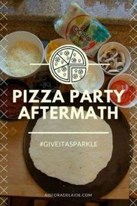 After the party, it's the after pa - 250 Great Pizza Recipes - RecipePin.com