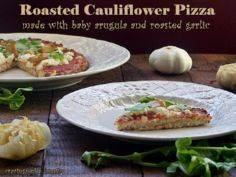 Roasted Cauliflower Pizza with Bab - 250 Great Pizza Recipes - RecipePin.com
