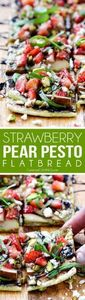 this fresh, sweet and salty Strawb - 250 Great Pizza Recipes - RecipePin.com