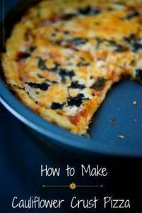 Make a healthier pizza crust out o - 250 Great Pizza Recipes - RecipePin.com