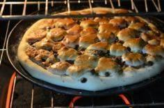 How To Make A S'mores Pizza - 250 Great Pizza Recipes - RecipePin.com