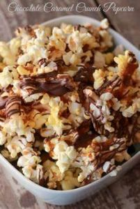 Chocolate Caramel Crunch Popcorn R - 250 Popcorn Recipes - RecipePin.com