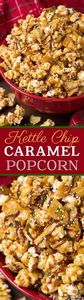 Kettle Chip Caramel Popcorn - swee - 250 Popcorn Recipes - RecipePin.com