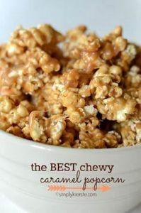 The best, ooiest, gooiest, chewies - 250 Popcorn Recipes - RecipePin.com