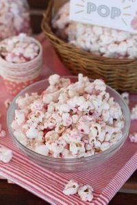 Strawberry Shortcake Popcorn ~ Eri - 250 Popcorn Recipes - RecipePin.com