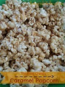 The Best Chewy Caramel Popcorn Rec - 250 Popcorn Recipes - RecipePin.com