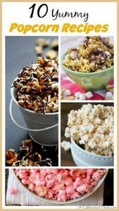 Bored with your usual butter and s - 250 Popcorn Recipes - RecipePin.com