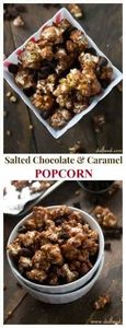 This chocolate and caramel combina - 250 Popcorn Recipes - RecipePin.com