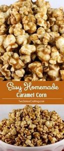This Easy Homemade Caramel Corn ta - 250 Popcorn Recipes - RecipePin.com