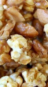 Cashew Caramel Corn                - 250 Popcorn Recipes - RecipePin.com