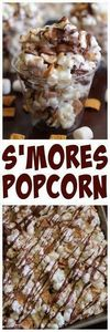 Eat Cake For Dinner: S'mores Popco - 250 Popcorn Recipes - RecipePin.com