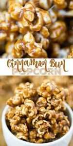 Candy corn meets caramel corn! Thi - 250 Popcorn Recipes - RecipePin.com