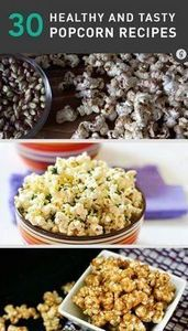 30 Healthier Popcorn Recipes (with - 250 Popcorn Recipes - RecipePin.com