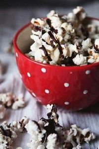 black and white popcorn - a sweet  - 250 Popcorn Recipes - RecipePin.com