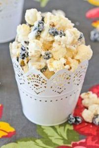 Blueberries & Cream Popcorn is - 250 Popcorn Recipes - RecipePin.com