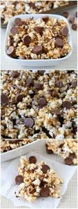 Reese's Peanut Butter Popcorn Reci - 250 Popcorn Recipes - RecipePin.com