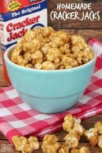 Homemade Cracker Jacks Recipe! Eas - 250 Popcorn Recipes - RecipePin.com