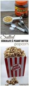 This salted chocolate and peanut b - 250 Popcorn Recipes - RecipePin.com