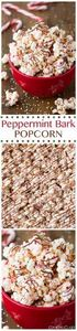 Peppermint Bark Popcorn - this is  - 250 Popcorn Recipes - RecipePin.com