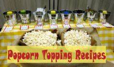 Popcorn Topping Recipes - 250 Popcorn Recipes - RecipePin.com