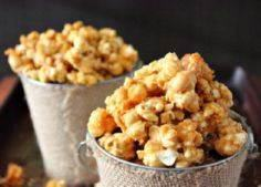 Butter Toffee Popcorn Recipe - 250 Popcorn Recipes - RecipePin.com